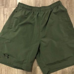 Under Armour Army Green Shorts
